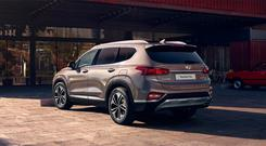 FAST-SELLING: The Santa Fe is a bit thirsty, but it has the edge in roominess on its rivals.