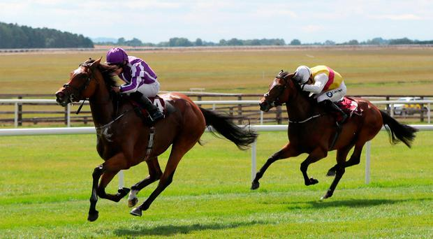 Curragh double for O'Brien as Magical weaves her spell