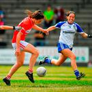 Ciara O'Sullivan bagged two goals in Cork's victory against Monaghan. Photo by Brendan Moran/Sportsfile