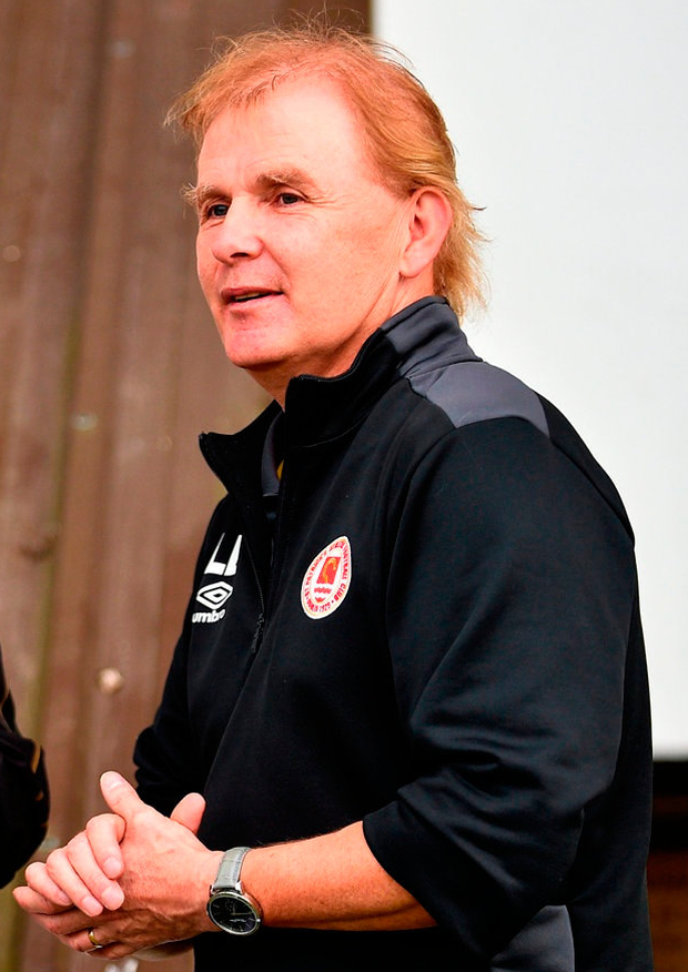 St Patrick's Athletic manager Liam Buckley. Photo: Sam Barnes/Sportsfile