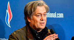 Steve Bannon plans an assault on European Union elections. Photo: AP