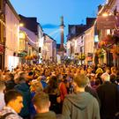 The crowds seen at last year's Fleadh in Ennis, Co Clare. Photo: Eamon Ward