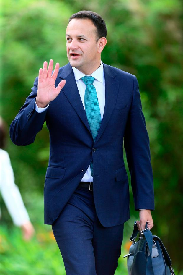 Taoiseach Leo Varadkar at Derrynane House, Co Kerry last week. Photo: Frank McGrath
