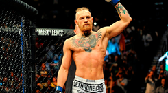 MMA star Conor McGregor is expected to escape a ban from his sport after his court appearance. Photo: Sportsfile