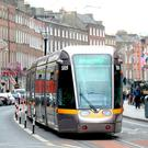 Green Line Luas. Photo: Justin Farrelly.