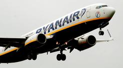 'Ryanair would have to prove that the strike was an 'extraordinary circumstance' to avoid the payout.' Stock photo: PA Wire