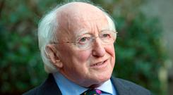 President Michael D Higgins. Photo: Tony Gavin