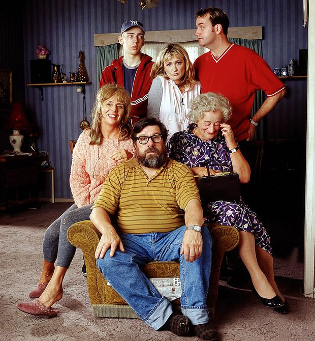 The cast of The Royle Family (Matt Squires/BBC)