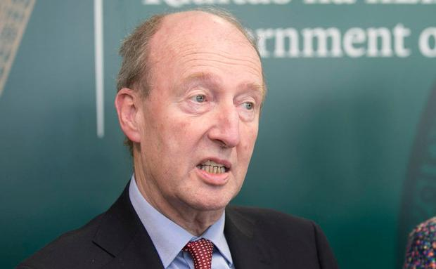 Minister for Transport, Tourism and Sport, Shane Ross. Photo: Kyran O'Brien