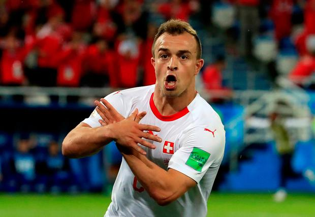 Shaqiri is focused only on becoming a success at Liverpool, four years after his hopes of joining the club were ruined by former club Bayern Munich. Photo: Reuters