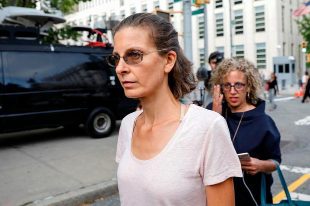 Clare Bronfman, an heiress of the Seagram's liquor empire. Photo: Reuters