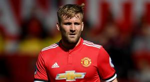 Manchester United's Luke Shaw. Photo: Getty Images