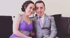 Irish couple Chloe Sugrue and Seán Davis had to flee for their lives