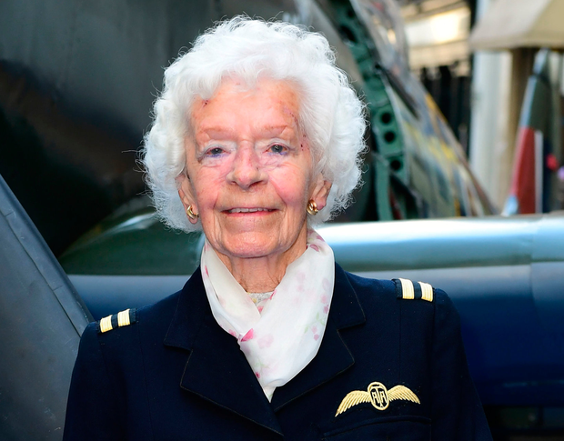 Mary Ellis flew 400 Spitfires after she joined up in 1941. Photo: PA