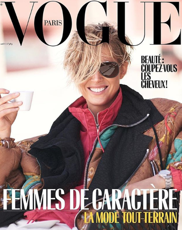 August's Vogue Paris