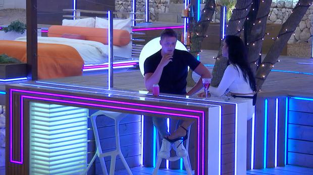 The fallout from Alex and Alexandra's split will continue on Love Island (ITV)