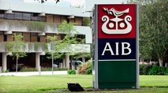 AIB's chief executive Bernard Byrne expects all affected customers to be paid within six weeks. Photographer: Crispin Rodwell/Bloomberg