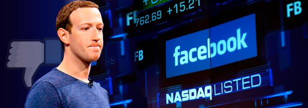 Facebook CEO Mark Zuckerberg had warned investors that changes could affect growth. Photo: Reuters