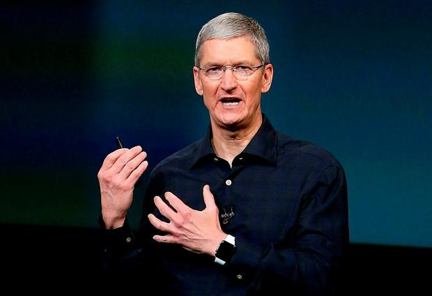 Apple's CEO Tim Cook. Photo: Justin Sullivan/Getty Images