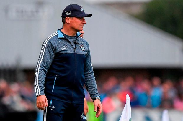 DECISION TIME: Dublin manager Jim Gavin must decide whether or not to rest some of his front-runners this weekend. Photo: Ray McManus/Sportsfile