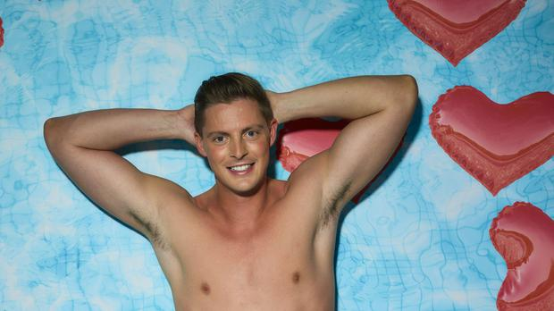 Alex George has been dumped from Love Island (ITV)