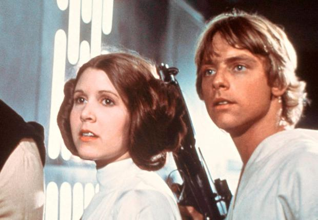 Mark Hamill says he finds it difficult to face his final chapter without the 'irreplaceable' Carrie Fisher, who died in 2016. AP Photo/20th Century-Fox Film Corporation