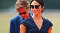 Meghan the Duchess of Sussex arrives at a charity polo match in Windsor, Britain, July 26, 2018. REUTERS/Hannah McKay