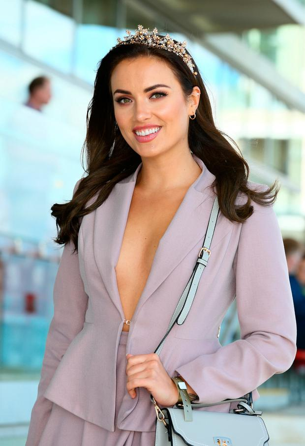 Holly Carpenter at the opening evening of the Galway Races. Picture: Frank McGrath