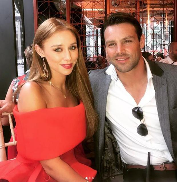 Una Healy and Ben Foden. Picture: Instagram
