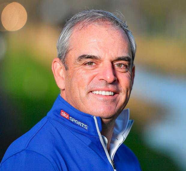 Paul McGinley. Photo: Brendan Moran/Sportsfile