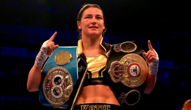 Katie Taylor fights in Boston this weekend