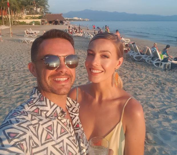 Blathnaid Treacy and boyfriend Charlie Moon on holidays in Mexico. Picture: Instagram