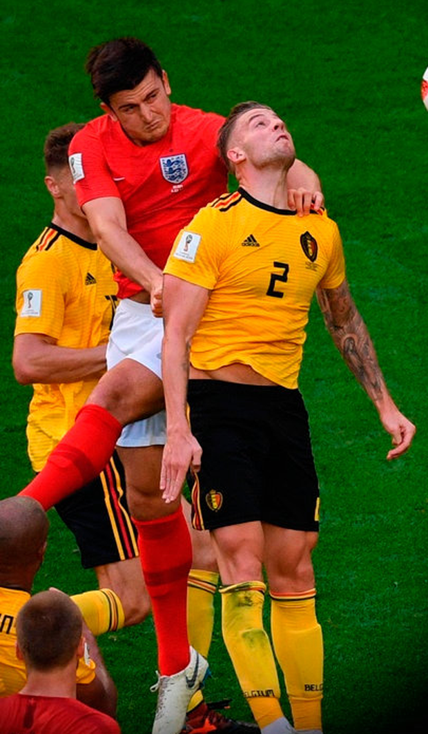 Manchester United have been linked with (l-r) Harry Maguire and Toby Alderweireld, Photo: Getty Images