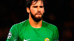New Reds goalkeeper Alisson. Photo: Tim Goode/PA
