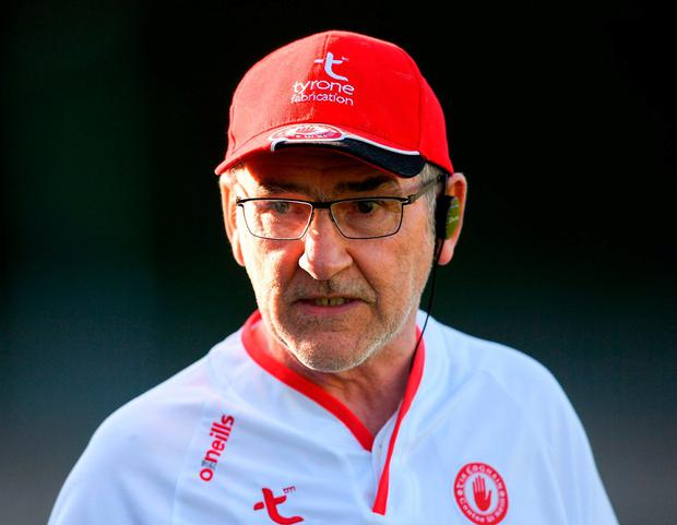Tyrone's Mickey Harte. Photo: Eóin Noonan/Sportsfile
