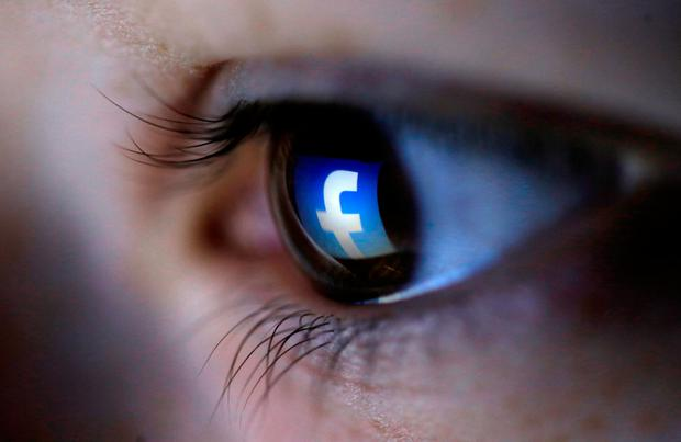Two senior members of Facebook will appear before the Oireachtas Communications Committee today. Photo: Reuters