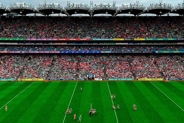 Ms Humphreys is planning to bring forward legislation which would clampdown on ticket touts cashing in on GAA matches and music concerts. Photo: Sportsfile