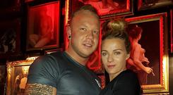 Dean Evans and Stacey Roche