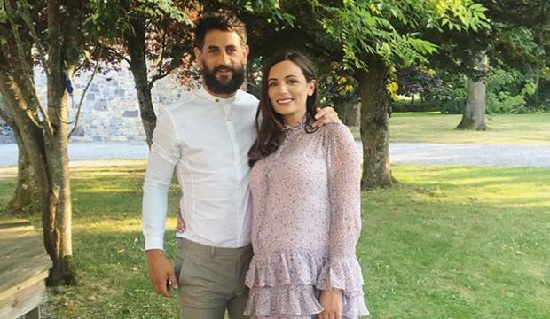 Louise Duffy and husband Paul Galvin. Picture: Instagram