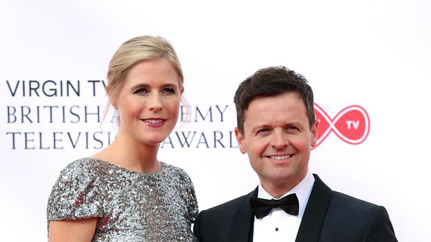 Declan Donnelly and Ali Astall (PA)
