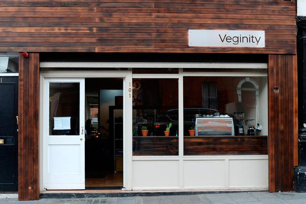 Veginity Restaurant on Dorset Street Upper in Dublin. Photo: Caroline Quinn