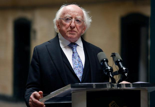 Two TDs broke ranks on the parliamentary party's support of Michael D Higgins for a second term as President. Photo: Damien Eagers