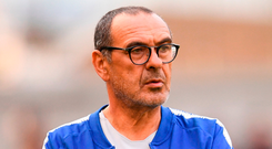 Chelsea manager Maurizio Sarri . Photo: Ramsey Cardy/Sportsfile