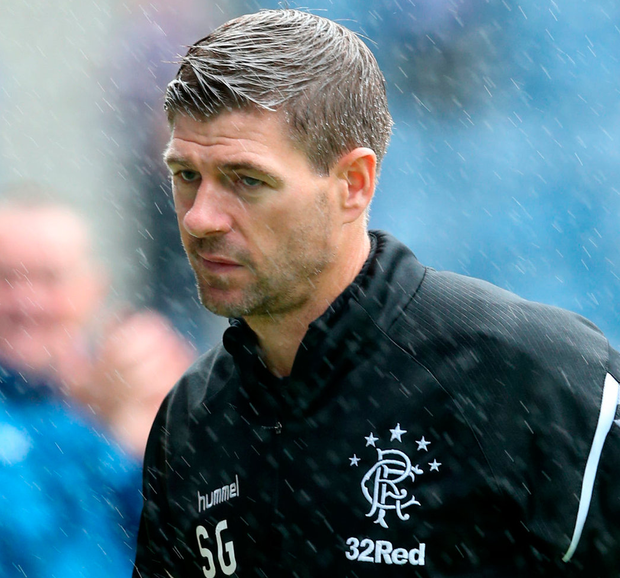 Rangers manager Steven Gerrard. Photo: PA