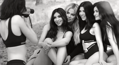 Kendall, Kim, Khloe, Kourtney and Khloe for Calvin Klein
