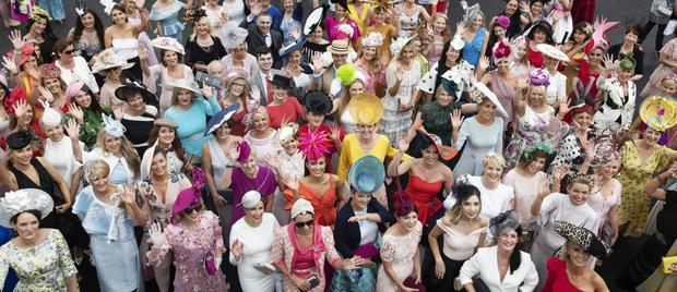 Ladies Day is underway at the Galway Races (Photo: Andrew Downes)