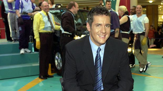 The late TV star Dale Winton (PA).