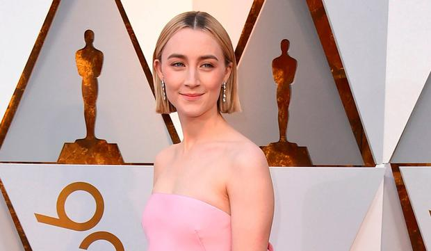 Saoirse Ronan has earned Oscar nominations for roles in 'Atonement', 'Brooklyn' and 'Ladybird'. Photo: AP