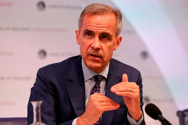 Bank of England Governor Mark Carney. Photo: PA