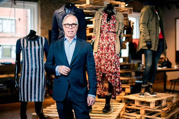 A 'strong collection' from designer Tommy Hilfiger drove sales and profits at the Irish unit of the fashion chain. Photo: Bloomberg
